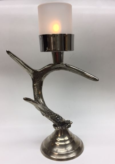Click To See More. Metal Antler Torchiere Lamp