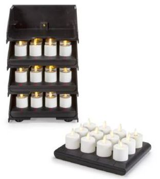 LUMINARA Real Flame-Effect Battery Candles