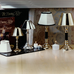 Dealer Display Unit & TableDecor - restaurant table lamps and decor for restaurant supply ...