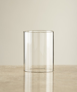 Clear Glass Cylinder for LF lamps