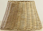 1W-HONEY Metal Wicker Shade