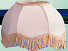 41 Scallop Dome Fabric Shade