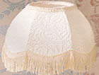 58 Scallop Dome Fabric Shade