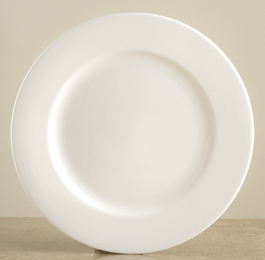 Pure bone china™ Plain Rim Salad Plate