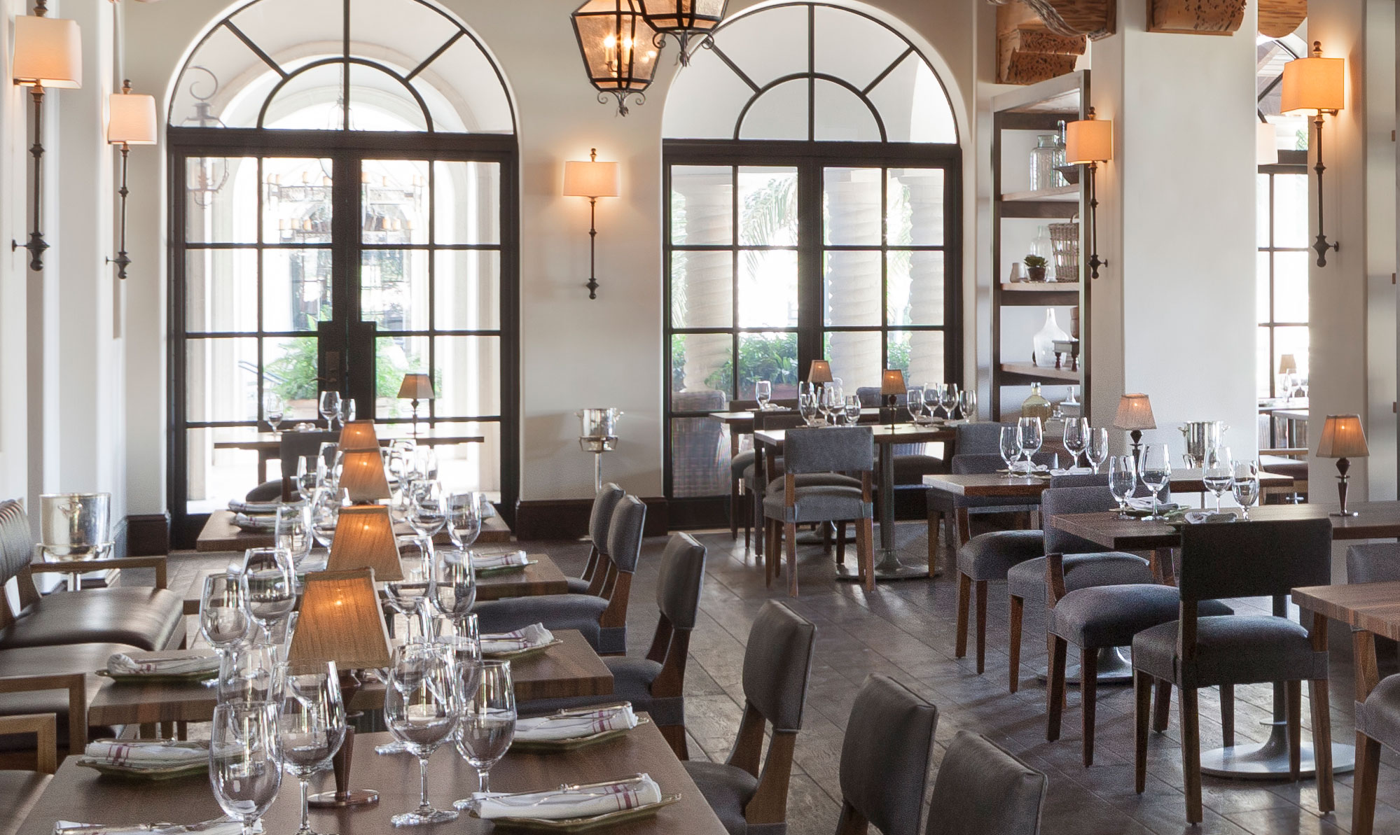 Tavola Restaurant at Sea Island