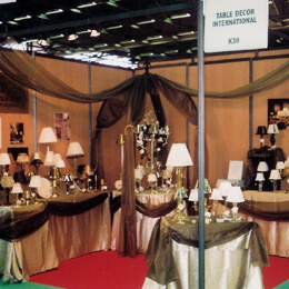 Tabledecor table decor international trade show schedule for Decor international wholesale